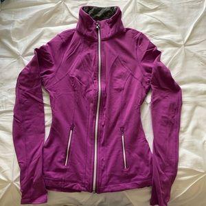 Lululemon Yogi Dance Jacket Size 4 in Purple/Grey